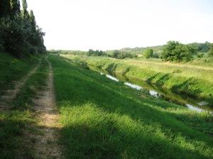 Off-road uz kanal Šio