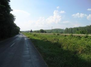 Na putu za mesto Alšonana