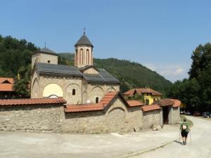 Po drugi put kod manastira Rača (foto : N.Radosavljević)