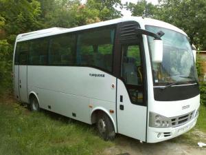 Autobus koji nas je prevezao do Tare i nazad. Turistička agencija Magelan Novi Sad