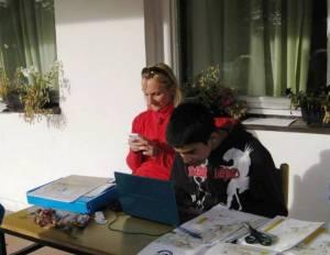 Marija i Strahinja su vodili evidenciju učesnika Deliblatskog maratona