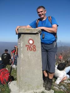 Vrh Miroča, Veliki Štrbac 768 m/nv