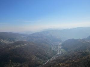 Pogled na Majdanpek sa vrha Starice