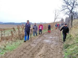 Blatnjava staza na početku nas nije obeshrabrila (foto Milan Marković, PD Naftaš Novi Sad)