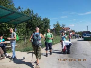 Paragovo, pred polazak na stazu (foto Vesna Guljaš)