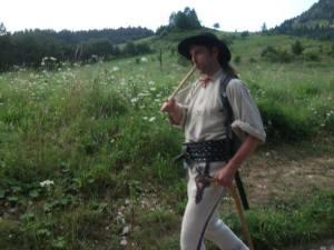 Pjotr, naš vodič u NP Pieniny (foto Bela Miković)