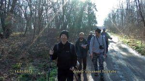 Čak 13 učesnika iz R Mađarske bilo je na 2. Šidskom novogodišnjem maratonu (foto Dele)
