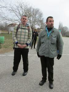 Predstavnik TO Sremski Karlovci nas je dočekao na parkingu (foto Aleksandar Žmaher)