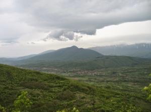 Oblaci nad Suvom planinom