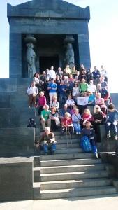 Grupni snimak sa vrha Avale