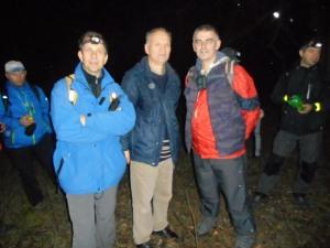Iso, Vitomir i ja na jednoj od pauza (foto V.Marković)