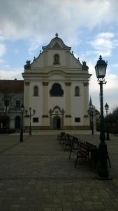 Velika crkva na trgu u Vacu